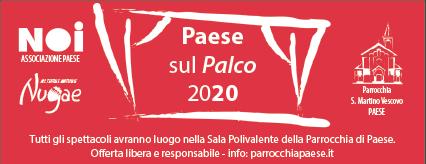 PAESE SUL PALCO 2020, seconda edizione